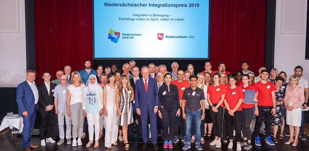 Gruppenbild der Preistragenden 2019